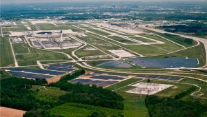 ind solar farm_phase i & ii aerial